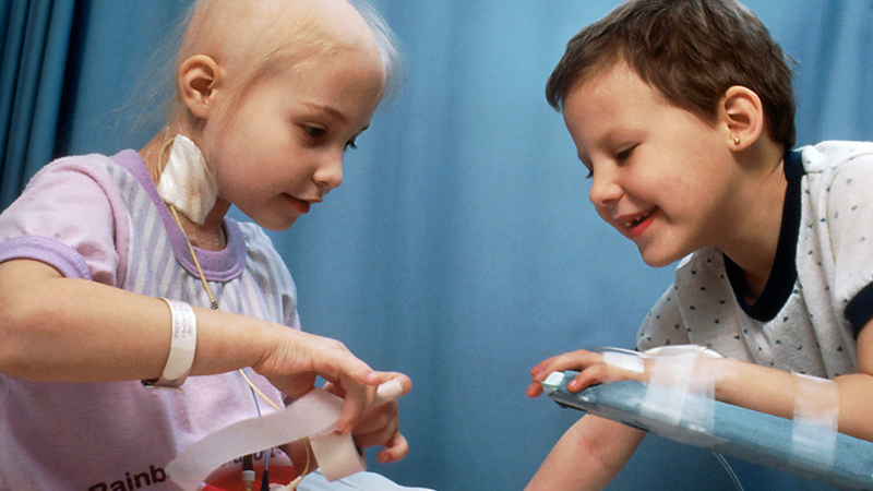 Caring For Children With Cancer Info Box